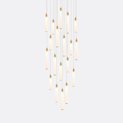 White Candle 19 | Suspended lights | Shakuff