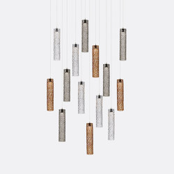 Mod Tube 14 Mixed Colors | Suspended lights | Shakuff