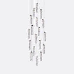 Mod Tube 18 Clear | Suspended lights | Shakuff