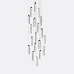 Mod Tube 19 Clear | Suspended lights | Shakuff