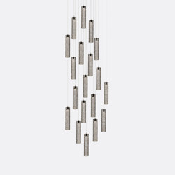 Mod Tube 19 Grey | Suspended lights | Shakuff