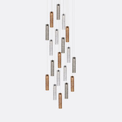 Mod Tube 19 Mixed Colors | Suspended lights | Shakuff