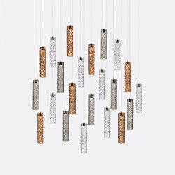 Mod Tube 22 Mixed Colors | Suspended lights | Shakuff