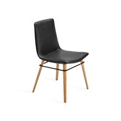 Amelie | Holzgestell mit umlaufendem Metallring | Stühle | FREIFRAU MANUFAKTUR
