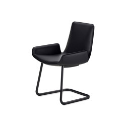Amelie | Armchair Low Freischwinger | Stühle | FREIFRAU MANUFAKTUR