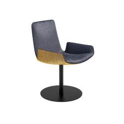 Amelie | Armchair Low mit Tellerfuß | Stühle | FREIFRAU MANUFAKTUR