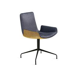 Amelie | Armchair Low mit Sternfuß | Stühle | FREIFRAU MANUFAKTUR