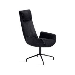 Amelie | Executive Armchair mit Sternfuß | Stühle | FREIFRAU MANUFAKTUR
