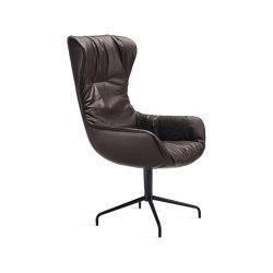 Leya   Executive Armchair mit Sternfuß   Stühle   FREIFRAU MANUFAKTUR