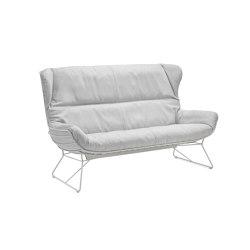 Leyasol | Outdoor | Wingback Couch | Sofas | FREIFRAU MANUFAKTUR