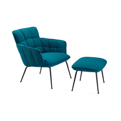 Marla | Easy Chair Low mit 4-Fuß Stahlgestell | Sessel | FREIFRAU MANUFAKTUR
