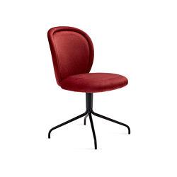 Ona   Side Chair with trestle leg   Chairs   FREIFRAU MANUFAKTUR
