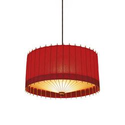 Kotori HG Pendant light large - Red | Suspended lights | Hiyoshiya