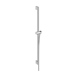 hansgrohe Unica Shower bar Pulsify 90 cm with push slider and shower hose | Bathroom taps accessories | Hansgrohe