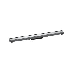 hansgrohe RainDrain Match Finish set shower drain 80 cm with height adjustable frame   Linear drains   Hansgrohe