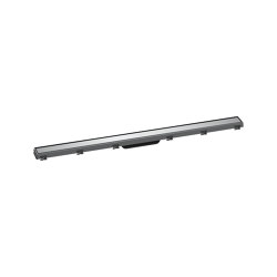 hansgrohe RainDrain Match Finish set shower drain 100 cm with height adjustable frame   Linear drains   Hansgrohe