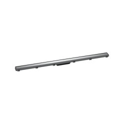 hansgrohe RainDrain Match Finish set shower drain 120 cm with height adjustable frame   Linear drains   Hansgrohe