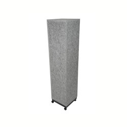 Acoustic pillar | Sound absorbing objects | silent.office.wall