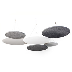 ATG silent.ceiling round | Sound absorbing objects | silent.office.wall