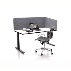 ATG silent.desk - one-sided connector | Table accessories | silent.office.wall
