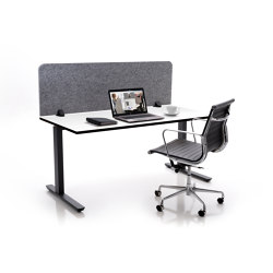 ATG silent.desk solo | Table accessories | silent.office.wall