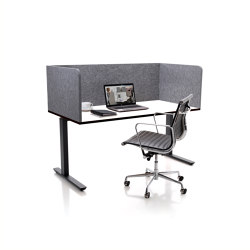 ATG silent.desk - two-sided connector | Table accessories | silent.office.wall