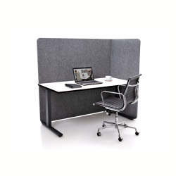 ATG silent.line - one-sided connector | Table accessories | silent.office.wall