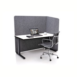 ATG silent.line - one-sided connector   Table accessories   silent.office.wall