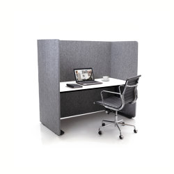 ATG silent.line - two-sided connector | Accessoires de table | silent.office.wall