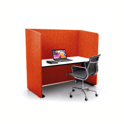 ATG silent.line - two-sided connector   Table accessories   silent.office.wall