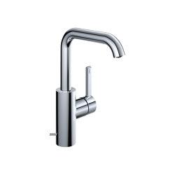 KWC BEVO Lever mixer with pop-up valve | Wash basin taps | KWC