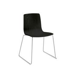 Aava - Sled, wood | Stühle | Arper