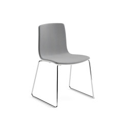 Aava - Sled, upholstered | Chairs | Arper