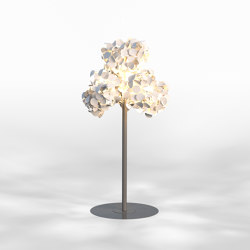 Leaf Lamp Metal Tree M | Free-standing lights | Green Furniture Concept