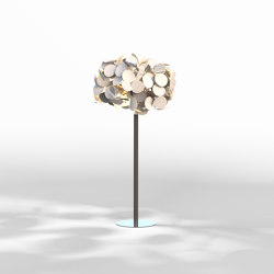 Leaf Lamp Metal Tree S | Free-standing lights | Green Furniture Concept