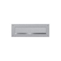 Designer   Briefeinwurf aus Edelstahl - Einwurf 240x35mm - 300x115mm   Mailboxes   Briefkasten Manufaktur