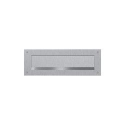 Designer   Briefeinwurf aus Edelstahl - Einwurf 350x63mm - 410x140mm   Mailboxes   Briefkasten Manufaktur