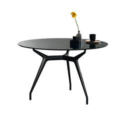 Arkos round liquid glass | Dining tables | Sovet