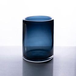 Cilindro Vaso Basso - Lucido Trasparente   Dining-table accessories   Purho