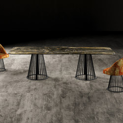 RENDEZ-VOUS LINEAR Dining Table   Dining tables   GIOPAGANI