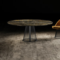 RENDEZ-VOUS ROUND Dining Table   Dining tables   GIOPAGANI