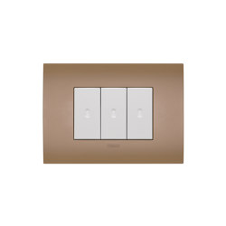 Arkè Fit Siena Soil Switches | Push-button switches | VIMAR