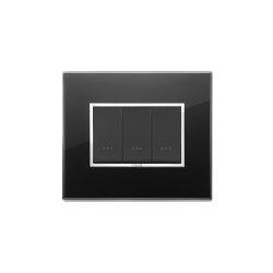 Eikon Evo crystal black diamond Switches | Push-button switches | VIMAR