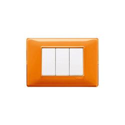 Plana Reflex orange Switches | Push-button switches | VIMAR