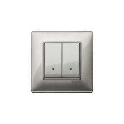 Plana Silver Switches | Push-button switches | VIMAR