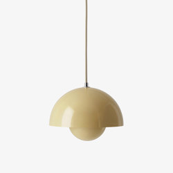 Flowerpot VP1 Pale Sand | Suspended lights | &TRADITION