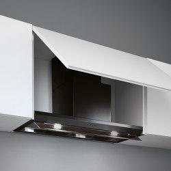 Design | Virgola Black Evolution | Kitchen hoods | Falmec