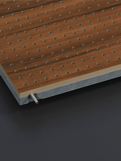 Climacustic by Fantoni   Wood panels