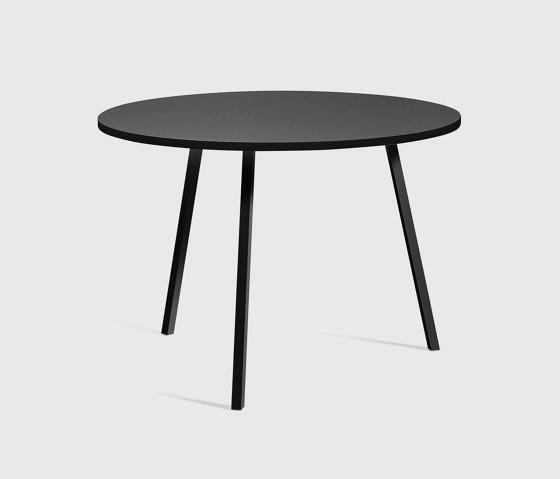 Loop Stand Round Table 105 von HAY | Esstische
