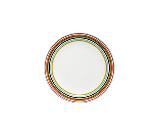 Origo plate 26cm orange by iittala | Dinnerware